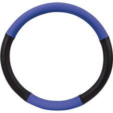 Lenkrad Bezug Lenkradschoner Lenkradhülle blau schwarz von Richter 37,5-40 cm