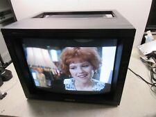 "Sony PVM-2030 Trinitron Color Video CRT Monitor 20"" Vintage Retro Gamer Gaming"