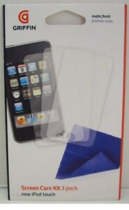 Griffin Technology GB01474 Screen protectors and cloth for iPod touch 2G, Matte