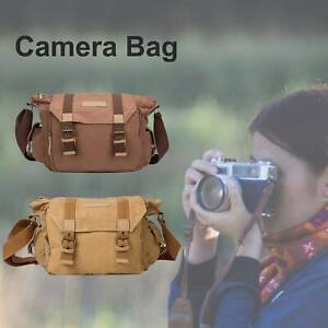 Waterproof Travel DSLR Camera Bag Shoulder Messenger Backpack For Nikon Sony