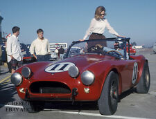 AC Cobra – Peter Jopp in action 1963 12 Hours of Sebring - AC Cobra/Shelby Ford