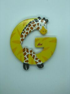 Wood Letters Animal Motif Sevi Letters Big Selection New