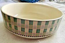 "Debbie Mumm Sakura Winter Birds 9"" Round Stoneware Salad Spaghetti Serving Bowl"