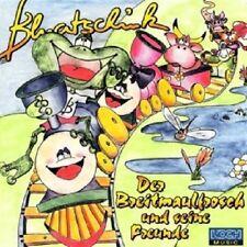 BLUATSCHINK - DER BREITMAULFROSCH UND SEINE FREUNDE  CD  KINDERLIEDER  NEU