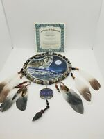 Bradford Exchange Spirits Of The Pack Dream Catcher With COA, Twilight's Journey