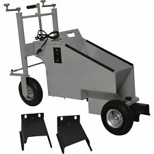 Klutch Electric Walk-Behind Concrete Curb Machine -5.8in. Working Width, 3/4 HP