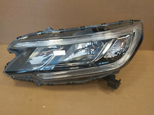 Honda CR-V CRV 4 Facelift Left Passenger side OEM Halogen Factory Headlight Lamp
