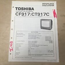 tv video home audio manual resources for toshiba for sale ebay rh ebay com Instruction Manual Example Owner's Manual