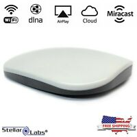 Wireless WiFi Audio Receiver, Multiroom Music Streaming Adapter Airplay Receiver