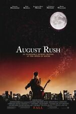 AUGUST RUSH Movie POSTER 27x40 Freddie Highmore Keri Russell Jonathan Rhys