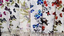 Joblot 12 pcs Butterfly Mixed Design scarf NEW wholesale 70x200 cm lot D