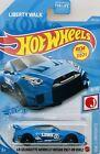 2021 Hot Wheels Blue LB-Silhouette Works GT Nissan 35GT-RR Ver.2 Card # 204/250