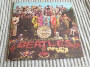 The Beatles - Sgt Peppers - Original U.K Mono. - Ex plus - Listen
