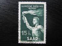 SAAR SAARLAND Mi. #314 scarce used stamp! CV $18.00