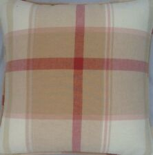 A 16 Inch Cushion Cover In Laura Ashley Buxton Gold Fabric