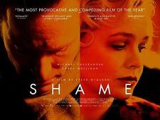 "Shame movie poster Michael Fassbender poster, Carey Mulligan poster : 12"" x 16"""