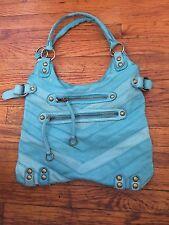 linea Pelle Classic Studded Shoulder purse Tote Bag