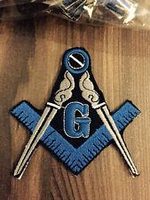 Masonic Patches, Master Mason Patches, Freemason Patches, Square & Compass Patch