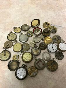 Konvolut Taschenuhren Ersatzteile