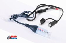 OPTIMATE 12V L.E.D TORCH & CONNECTION LEAD, MOTORCYCLE, CAR, ETC, TM71 + O-121