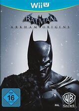 Batman: Arkham Origins Nintendo Wii U Gotham City Black Mask Pinguin Bane Joker