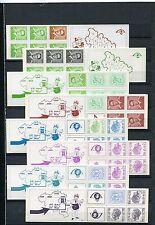 Kl. Sammlung  Belgien - MH ** aus Nr. 19 - 29 - KW 76,-- € ( 33704 )