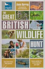 RSPB The Great British Wildlife Hunt BRAND NEW BOOK by Anne Harrap (P/B 2013)