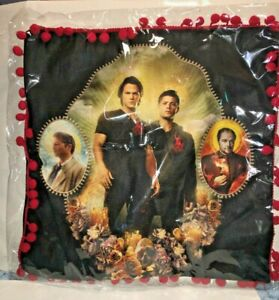 SUPERNATURAL JOIN THE HUNT THROW PILLOW COVER NEW