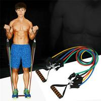 Band Resistance Chest Expander Puller Exercise Cross Fit Muscle Training Ropes