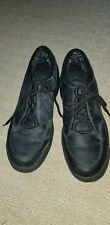 Womens Black Clarks Shoes 9