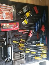 Huge Allen Wrench Lot Metric And Sae Bondus Eklind And Others