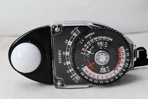 Sekonic STUDIO DELUXE  L-398 L398  Analogue Light Meter Exposure Meter Japan