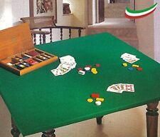 Copritavolo mollettone verde da gioco proteggi tavolo disponibile 4 misure