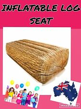 LARGE Inflatable LOG SEAT. KIDS PARTY INDOOR Capacity150kg.SYDNEY PICK UP FREE