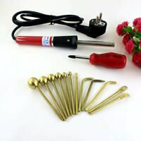 Millinery flower making tools - BRASS Millinery Electric Tools Silk - 12 tools