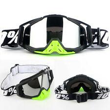 Motorbike Motocross Race Goggles Glasses Outdoor Offroad ATV UTV Anti-UV Bike