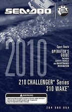 Sea-Doo Owners Manual Book 2010 210 CHALLENGER & 210 WAKE