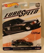 Mercedes-Benz 190E 2.5-16 Hot Wheels Euro Speed #3/5 Project Cars 1990 Quantity