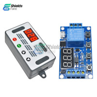 5V LED Automation Delay Display Micro USB Timer Controller Switch Relay Module