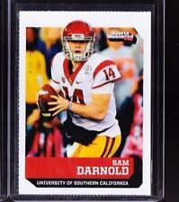 """SAM DARNOLD 2017 SI """"1 OF 9"""" 1ST EVER PRINTED COLLEGE ROOKIE CARD! USC TROJANS!"""