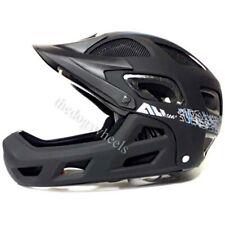 XLC Fullface AM All Mountain Bike MTB Helmet Black Full Face 52-56cms