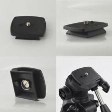 For SLR DSLR Digital Camera Tripod Quick Release Plate Screw Mount Head Adapter