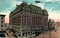 Vintage Postcard - Posted 1921 Hotel Astor Building New York NY #4217