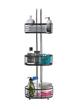 BATHROOM Standing CADDY Rust Resistant Shelf Storage 3 Tier Shower Organiser