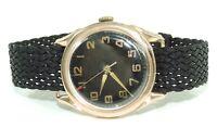 Kirovskie Herren Uhr Gold 583er 14 Karat Handaufzug