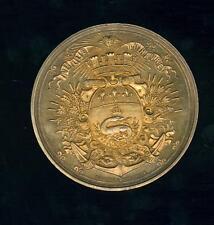 Superbe médaille vermeil 81g Le havre