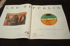 Led Zeppelin 1998 ad for Atlantic Records 50th Year, Robert Plant, Jimmy Page