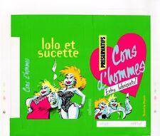 HARDY SERIGRAPHIE EX-LIBRIS LOLO & SUCETTE BOITE VERTE - 69 ex. n°/signés