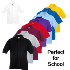 Cotton Blend Polo Polo Neck T-Shirts, Tops & Shirts (2-16 Years) for Boys