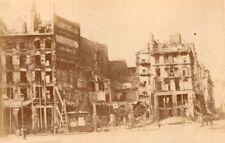 La Commune de Paris Place de la Bastille Ruins old Loubere Photo 1871